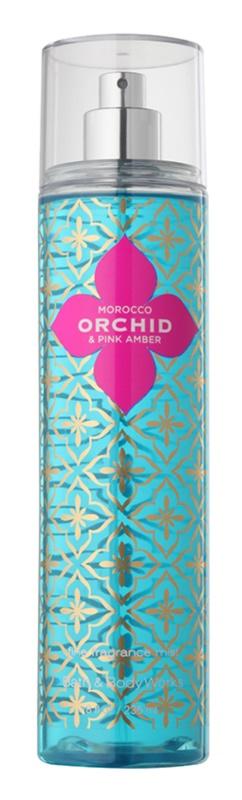 Bath & Body Works Morocco Orchid & Pink Amber telový sprej pre ženy 236 ml