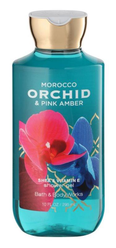 Bath & Body Works Morocco Orchid & Pink Amber gel de dus pentru femei 295 ml