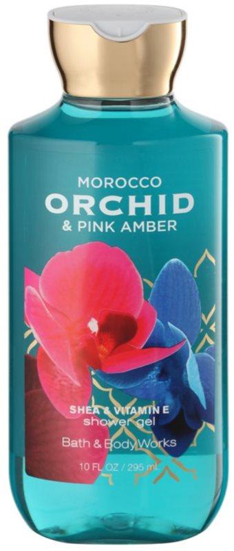 Bath & Body Works Morocco Orchid & Pink Amber sprchový gel pro ženy 295 ml