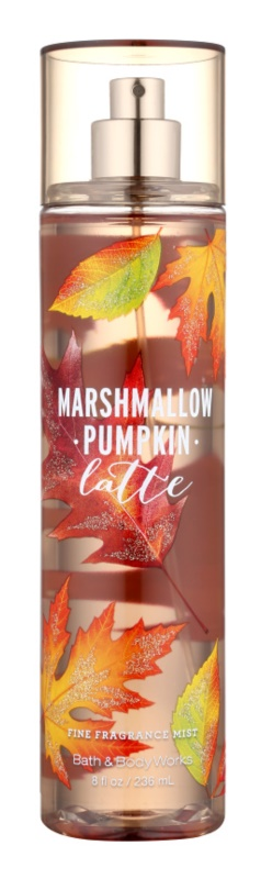 Bath & Body Works Marshmallow Pumpkin Latte spray pentru corp pentru femei 236 ml