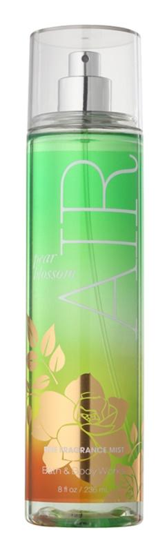 Bath & Body Works Pear Blossom Air spray corporel pour femme 236 ml