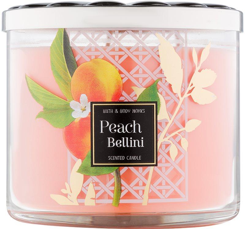 Bath & Body Works Peach Bellini lumanari parfumate  411 g