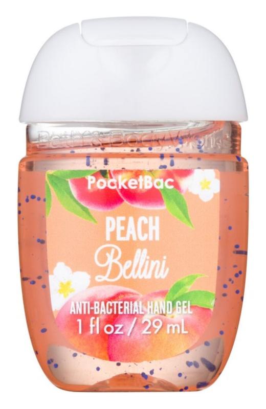 Bath & Body Works PocketBac Peach Bellini Gel antibacterial pentru maini.