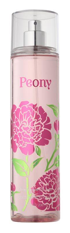 Bath & Body Works Peony tělový sprej pro ženy 236 ml