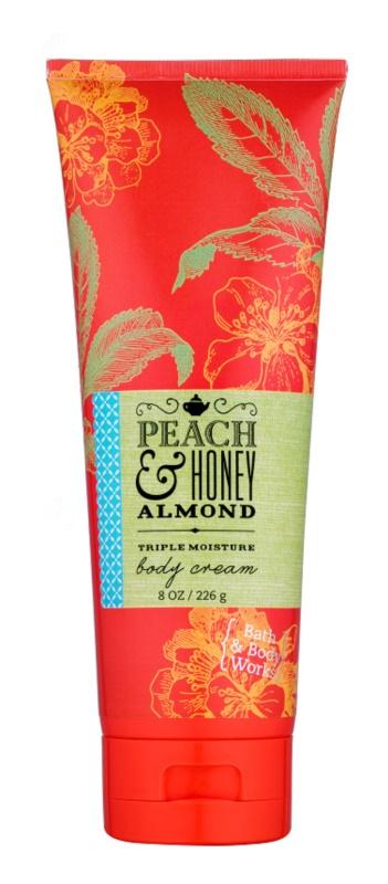Bath & Body Works Peach & Honey Almond крем для тіла для жінок 226 гр