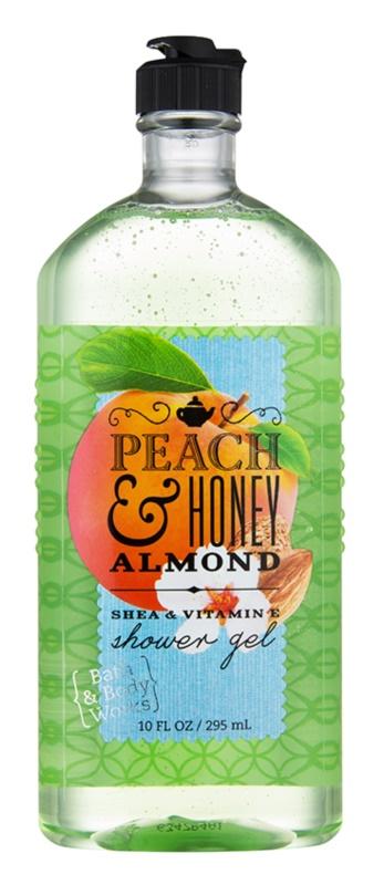 Bath & Body Works Peach & Honey Almond żel pod prysznic dla kobiet 295 ml
