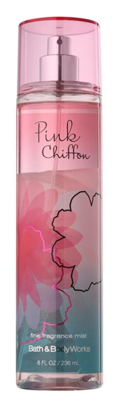 Bath & Body Works Pink Chiffon 12 tělový sprej pro ženy 236 ml
