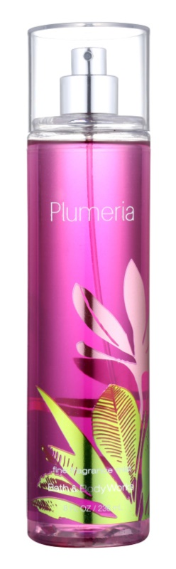 Bath & Body Works Plumeria Bodyspray  voor Vrouwen  236 ml