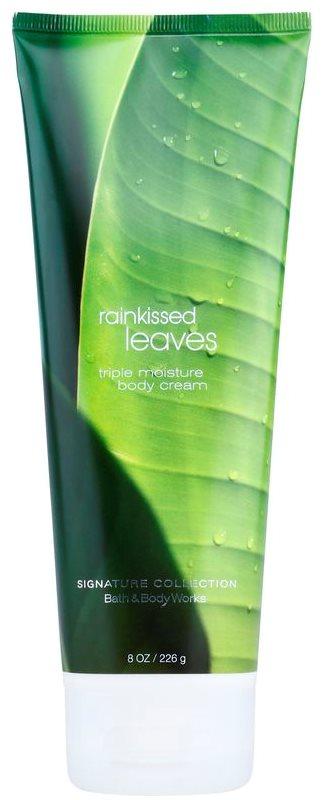 Bath & Body Works Rainkissed Leaves crema de corp pentru femei 226 g