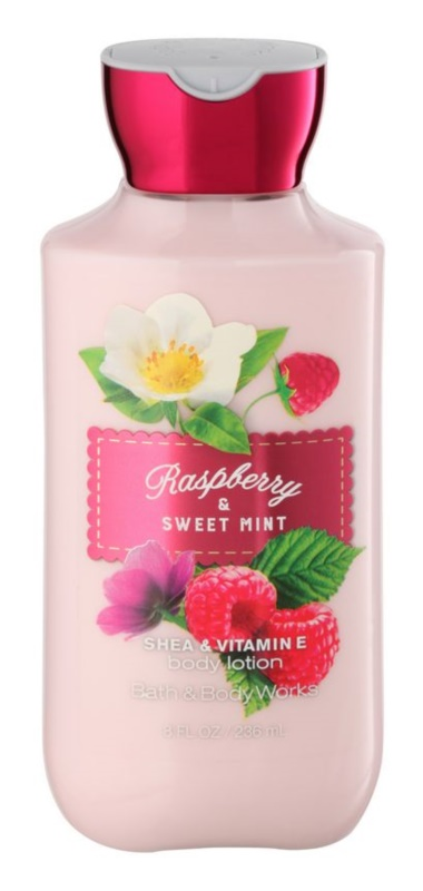 Bath & Body Works Raspberry & Sweet Mint Body Lotion for Women 236 ml