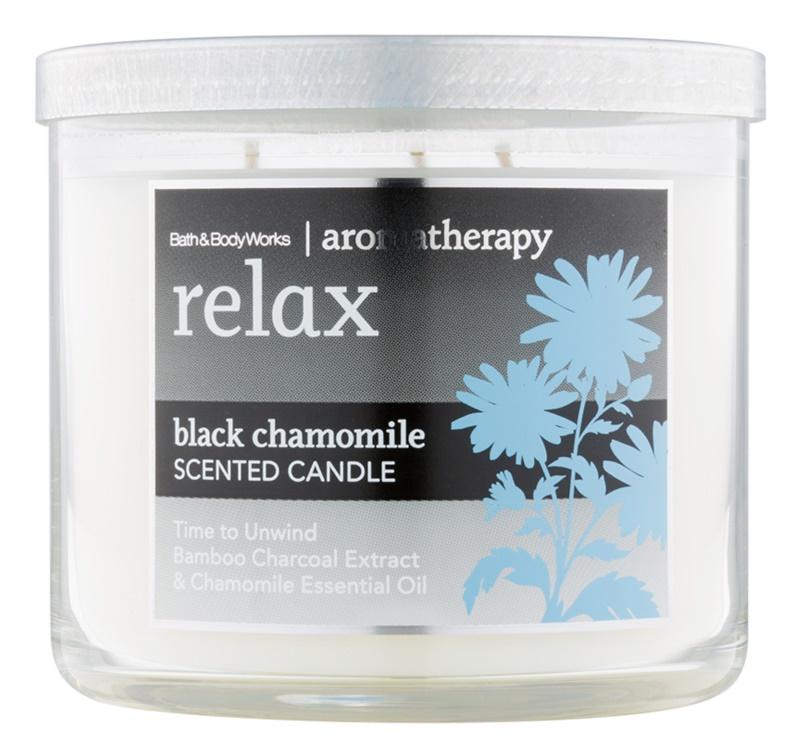 Bath & Body Works Relax Black Chamomile lumanari parfumate  411 g
