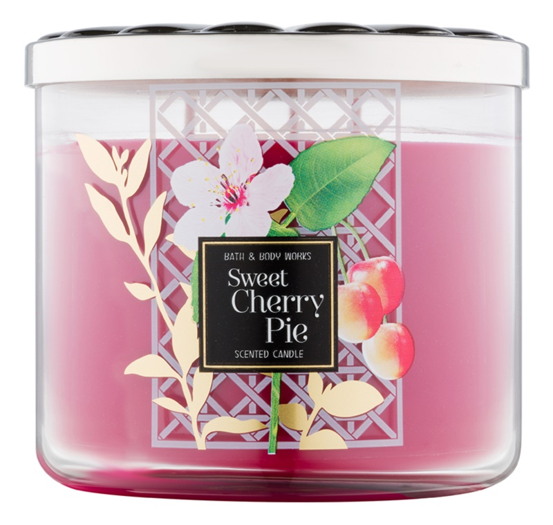 Bath & Body Works Sweet Cherry Pie Scented Candle 411 g