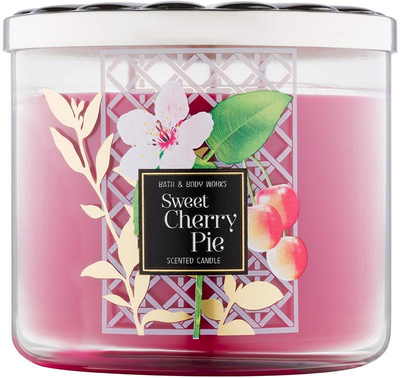 Bath & Body Works Sweet Cherry Pie vonná svíčka 411 g