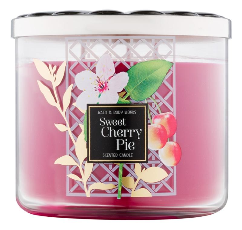 Bath & Body Works Sweet Cherry Pie vonná sviečka 411 g