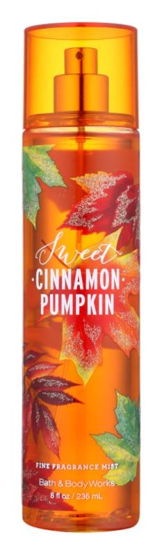 Bath & Body Works Sweet Cinnamon Pumpkin spray do ciała dla kobiet 236 ml