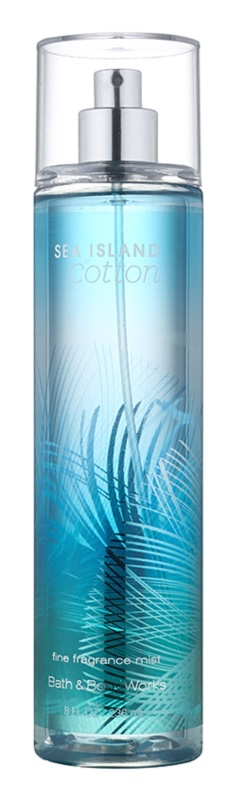 Bath & Body Works Sea Island Cotton spray corporel pour femme 236 ml