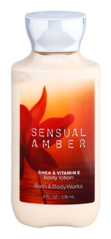 Bath & Body Works Sensual Amber tělové mléko pro ženy 236 ml