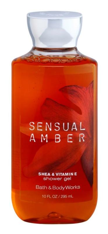 Bath & Body Works Sensual Amber gel douche pour femme 295 ml