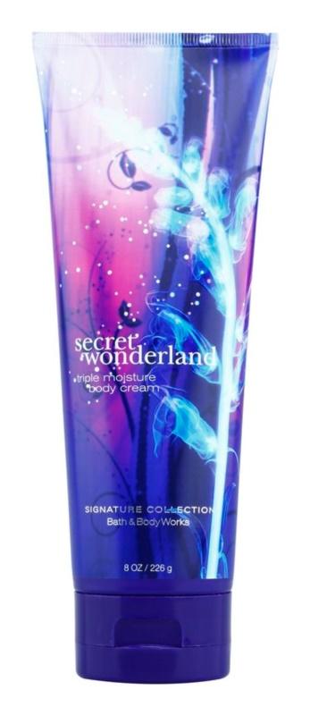 Bath & Body Works Secret Wonderland telový krém pre ženy 226 g