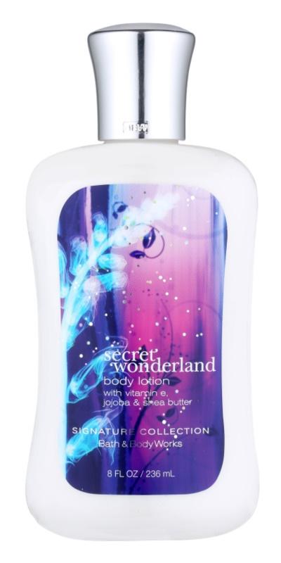 Bath & Body Works Secret Wonderland lapte de corp pentru femei 236 ml