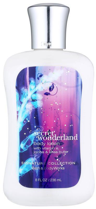 Bath & Body Works Secret Wonderland mleczko do ciała dla kobiet 236 ml