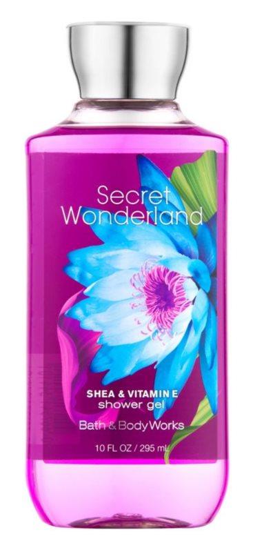 Bath & Body Works Secret Wonderland sprchový gél pre ženy 295 ml