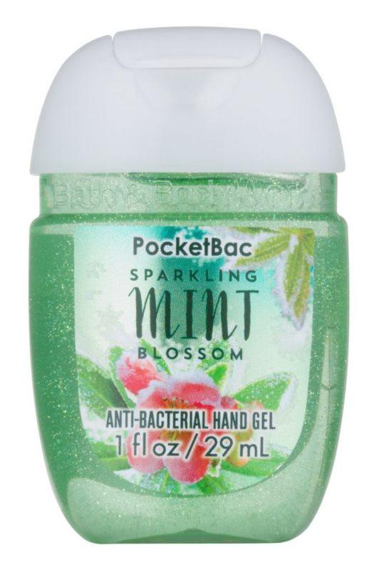 Bath & Body Works Sparkling Mint Blossom gel  para as mãos