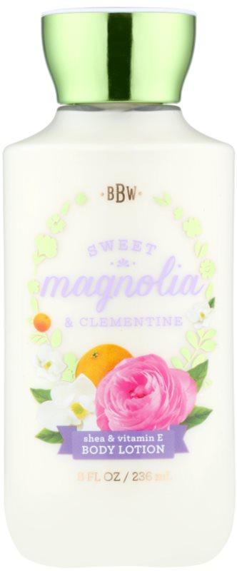 Bath & Body Works Sweet Magnolia & Clementine молочко для тіла для жінок 236 мл