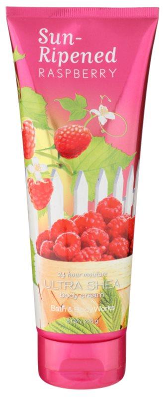 Bath & Body Works Sun Ripened Raspberry telový krém pre ženy 236 ml