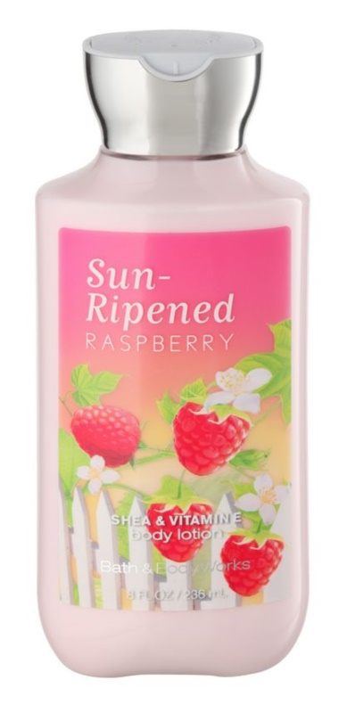Bath & Body Works Sun Ripened Raspberry Bodylotion  voor Vrouwen  236 ml