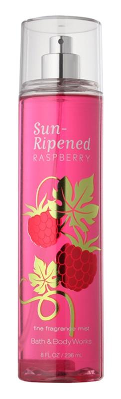 Bath & Body Works Sun Ripened Raspberry Bodyspray  voor Vrouwen  236 ml