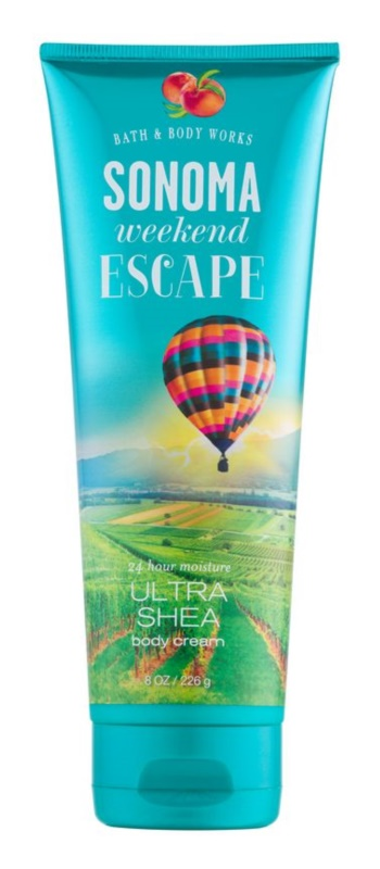 Bath & Body Works Sonama Weekend Escape Body Cream for Women 226 g