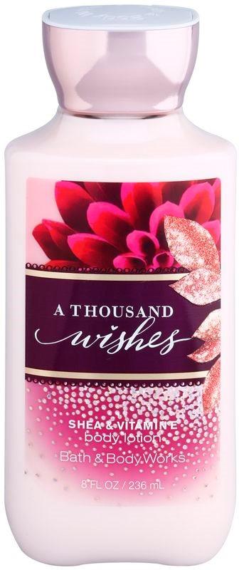 Bath & Body Works A Thousand Wishes tělové mléko pro ženy 236 ml