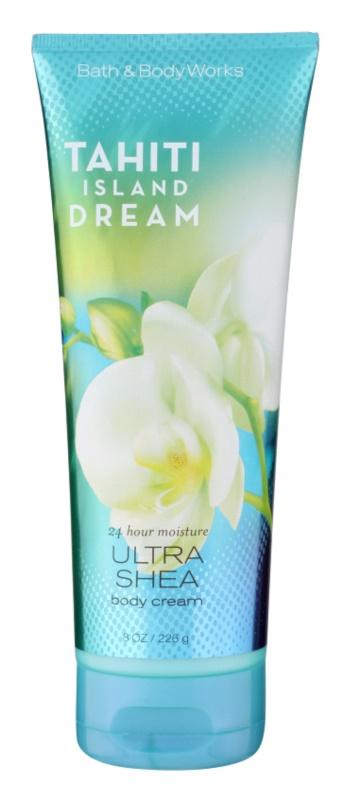 Bath & Body Works Tahiti Island Dream crème corps pour femme 226 g