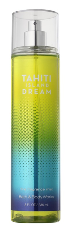 Bath & Body Works Tahiti Island Dream tělový sprej pro ženy 236 ml