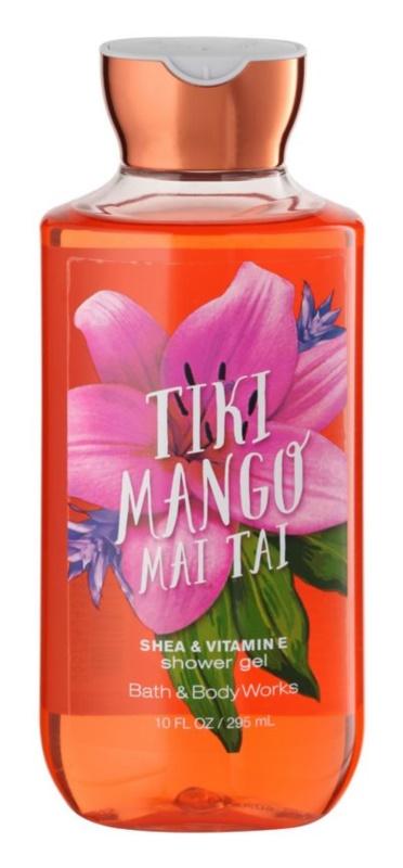 Bath & Body Works Tiki Mango Mai Tai gel de duche para mulheres 295 ml