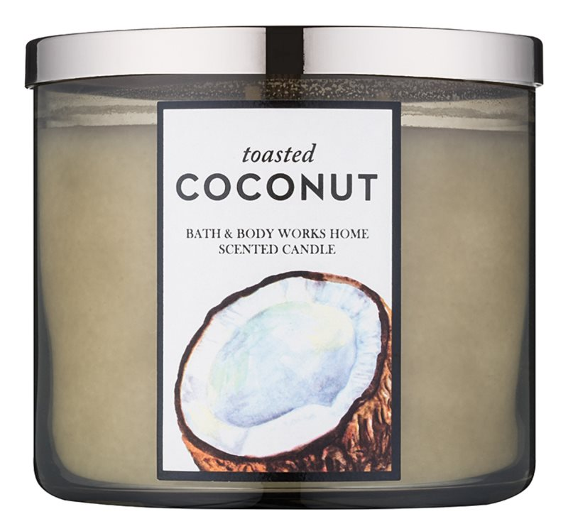 Bath & Body Works Toasted Coconut Geurkaars 411 gr