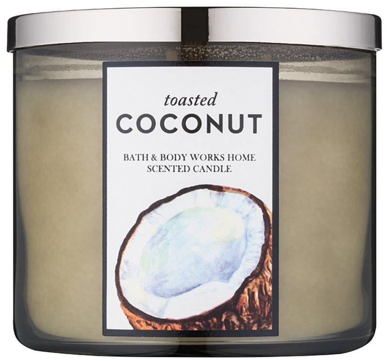 Bath & Body Works Toasted Coconut świeczka zapachowa  411 g
