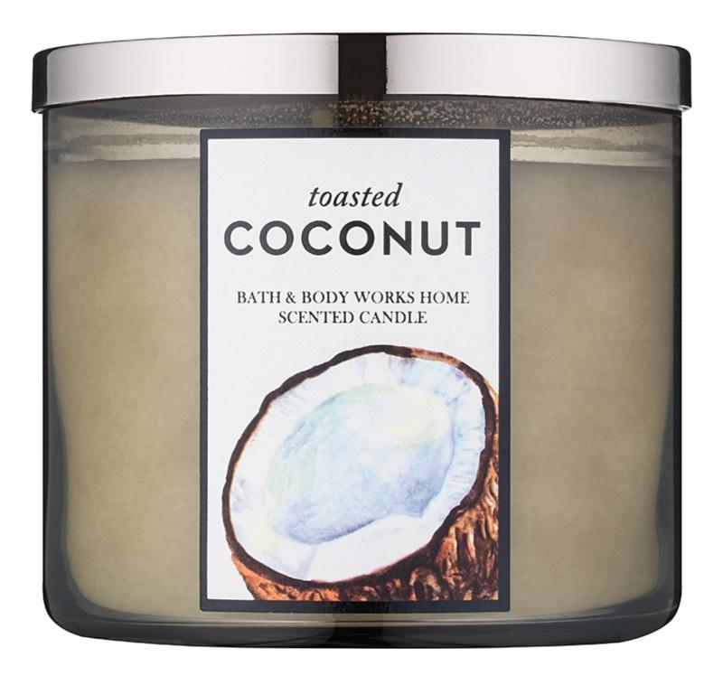 Bath & Body Works Toasted Coconut vonná svíčka 411 g