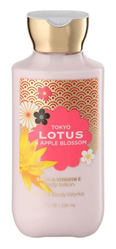 Bath & Body Works Tokyo Lotus & Apple Blossom lapte de corp pentru femei 236 ml