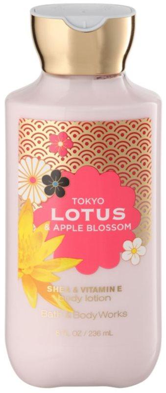 Bath & Body Works Tokyo Lotus & Apple Blossom tělové mléko pro ženy 236 ml