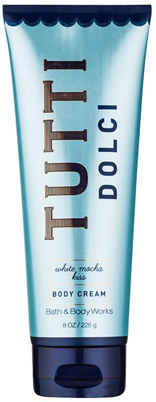 Bath & Body Works Tutti Dolci White Mocha Kiss крем за тяло за жени 226 гр.
