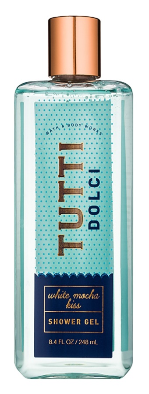 Bath & Body Works Tutti Dolci White Mocha Kiss sprchový gél pre ženy 248 ml
