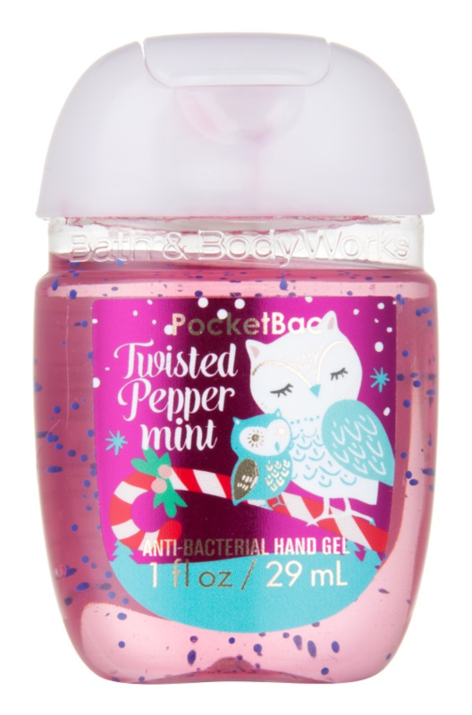 Bath & Body Works PocketBac Twisted Peppermint żel do rąk