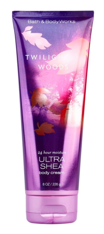 Bath & Body Works Twilight Woods testkrém nőknek 226 g shea vajjal