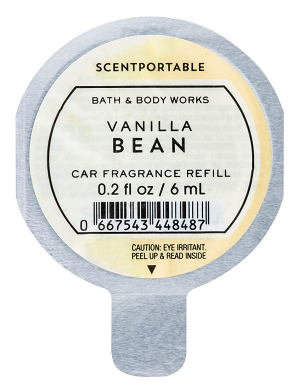 Bath & Body Works Vanilla Bean Désodorisant voiture 6 ml