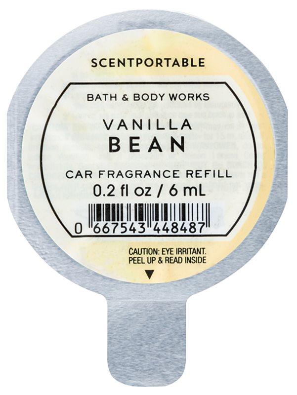 Bath & Body Works Vanilla Bean parfum pentru masina 6 ml