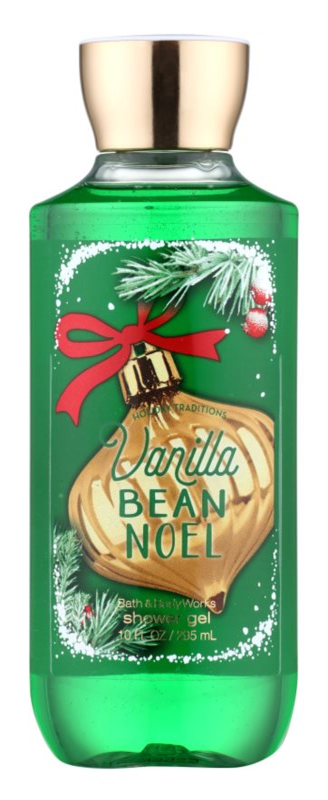 Bath & Body Works Vanilla Bean Noel żel pod prysznic dla kobiet 295 ml
