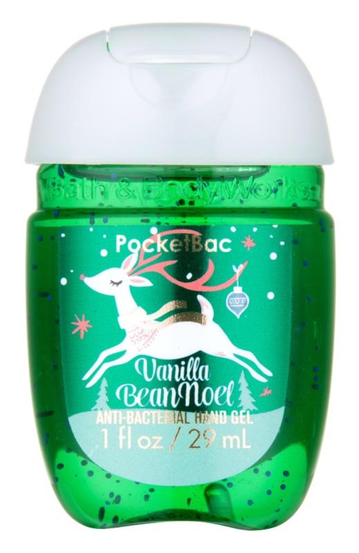 Bath & Body Works PocketBac Vanilla Bean Noel Gel antibacterial pentru maini.