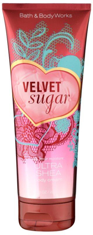 Bath & Body Works Velvet Sugar crema de corp pentru femei 236 ml